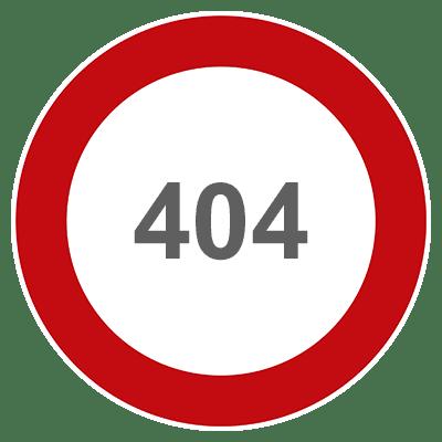 404 Fehler - Schema