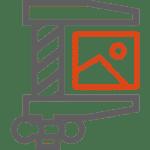 Bild-Dateigröße komprimieren - Icon