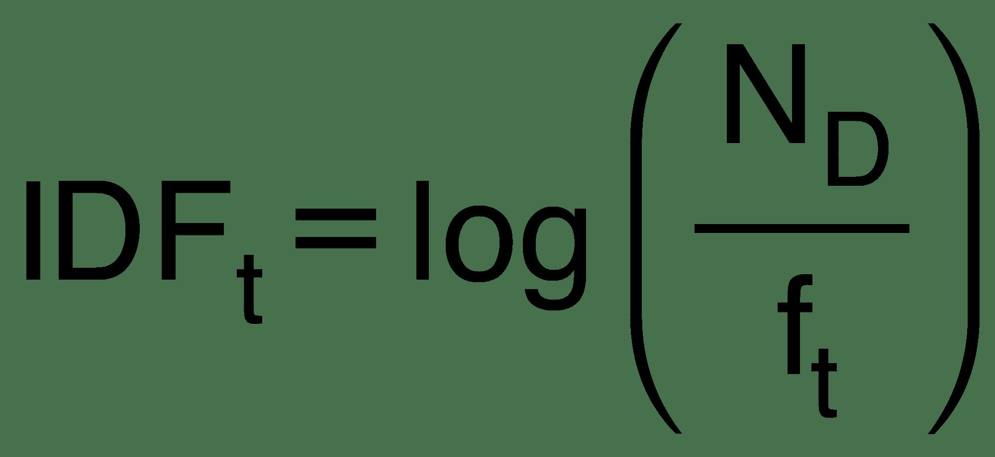 Inversen Dokumenthäufigkeit (IDF)
