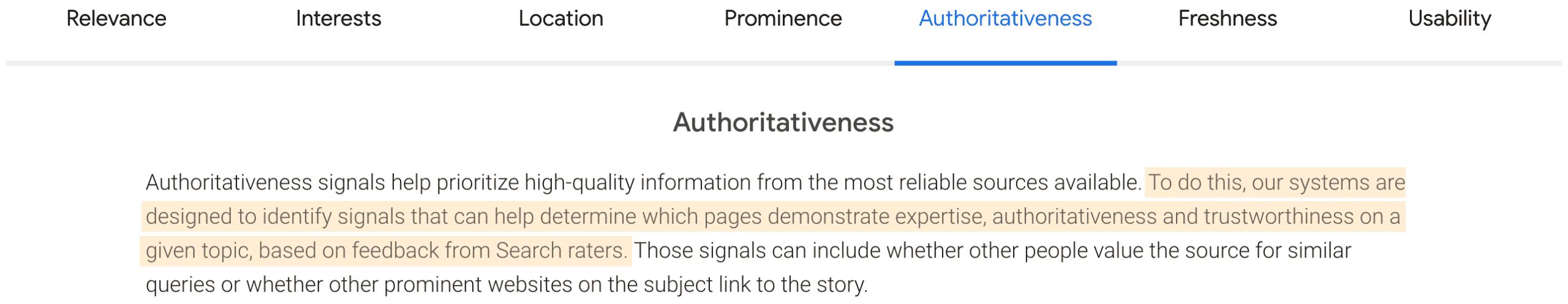 Google Authoritativeness: Haben Search Rater direkten Einfluss auf die Suchergebnisse?