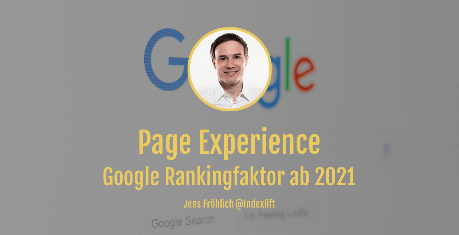 Google Page Experience - Titel