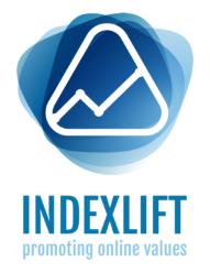 Indexlift Markenzeichen hoch