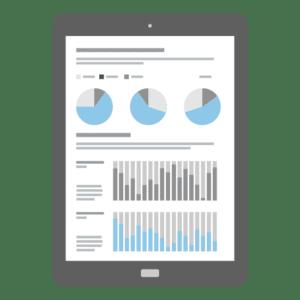 Daten-Diagramme-Charts - Illustration