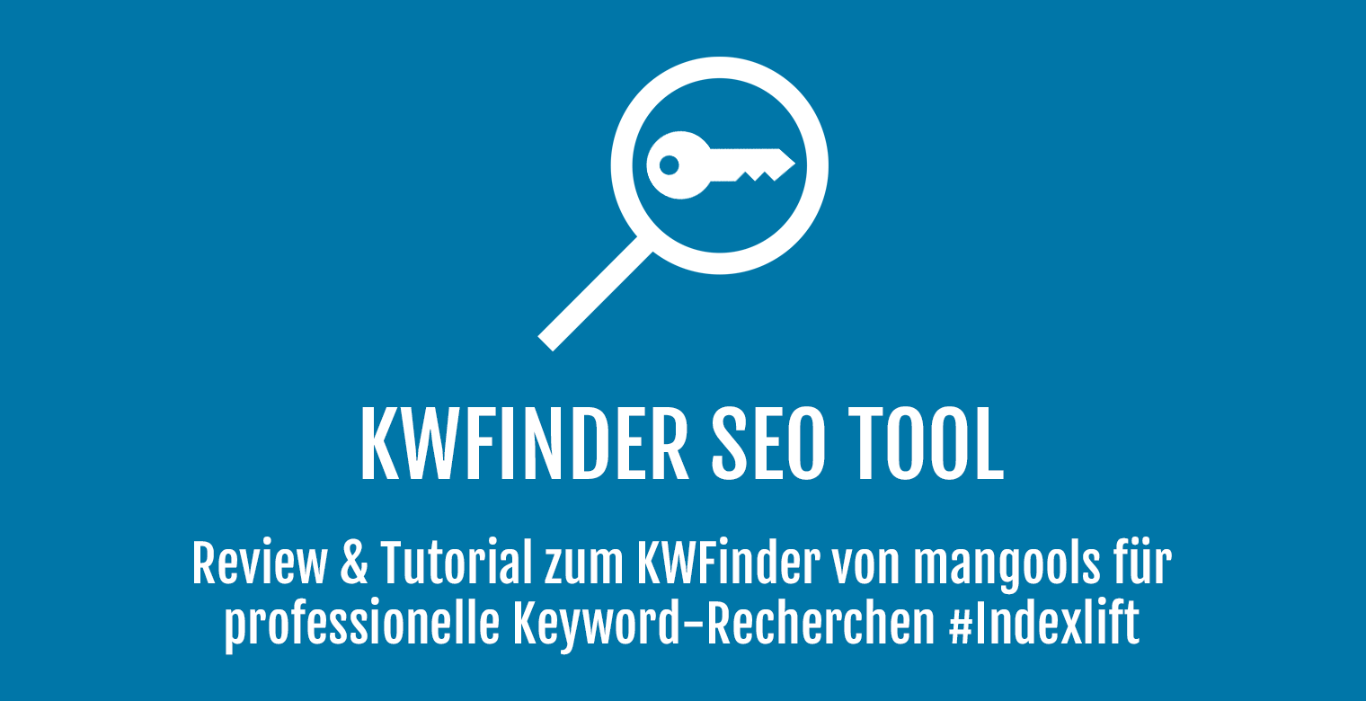 KWFinder SEO Tools - Header