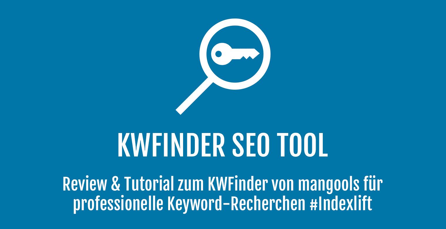 KWFinder SEO Tools - Header
