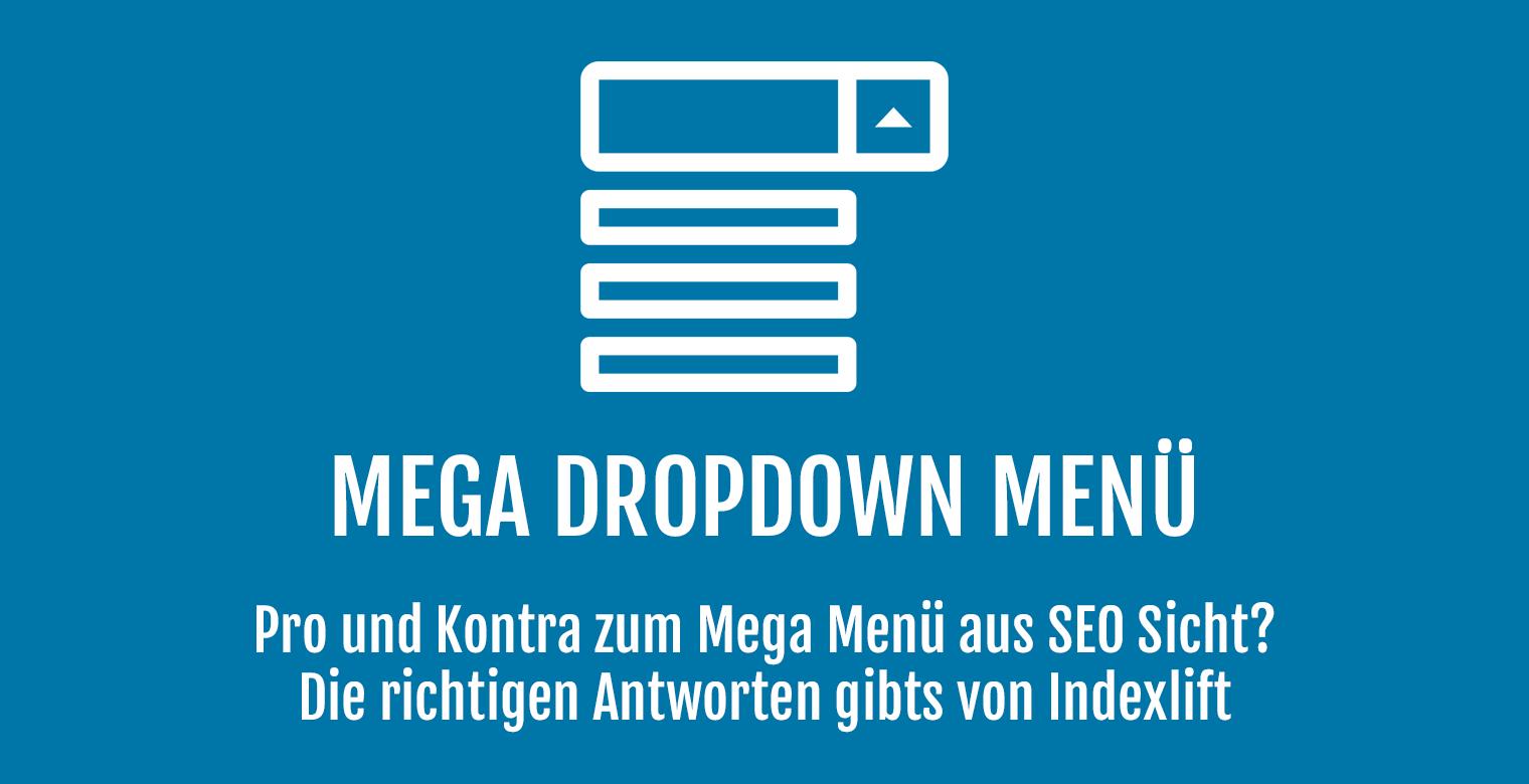 Mega Dropdown Menü - Header