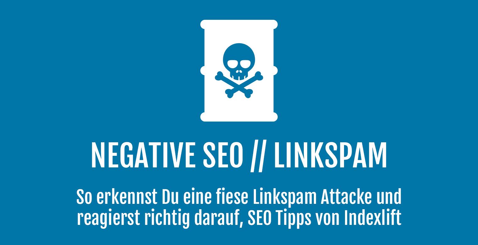 Negative SEO, Linkspam - Header