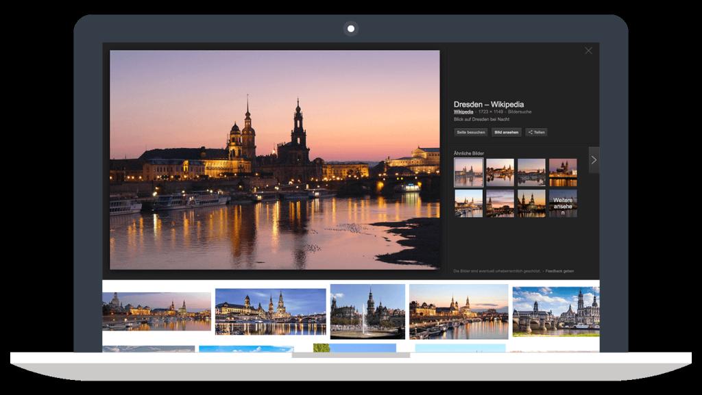 Google Bildersuche - Innenstadt Dresden