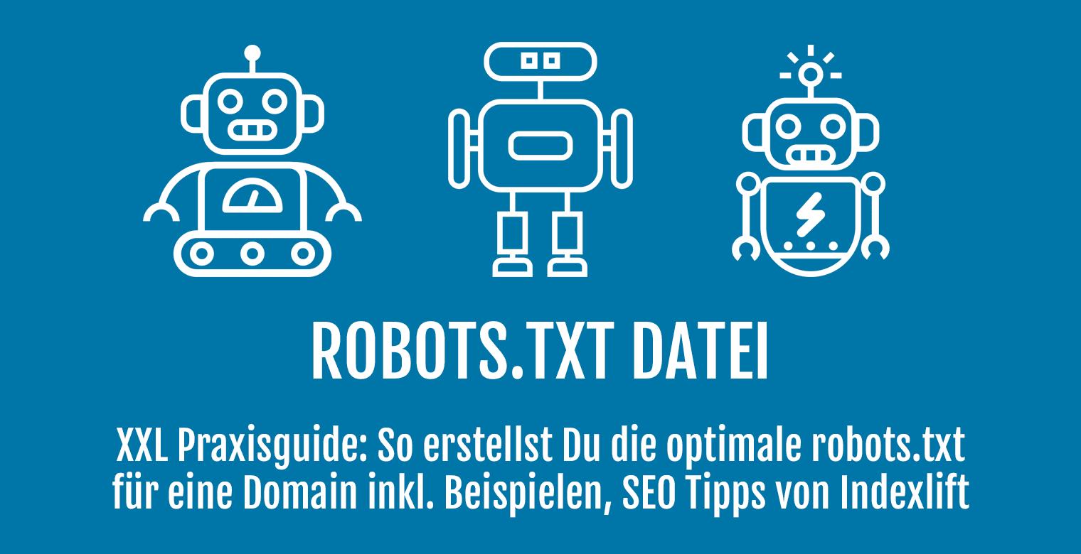 robots.txt Datei - Header