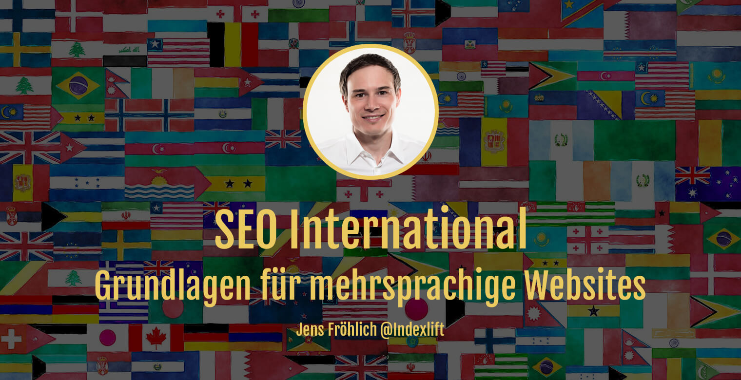 Titelbild: SEO International Grundlagen