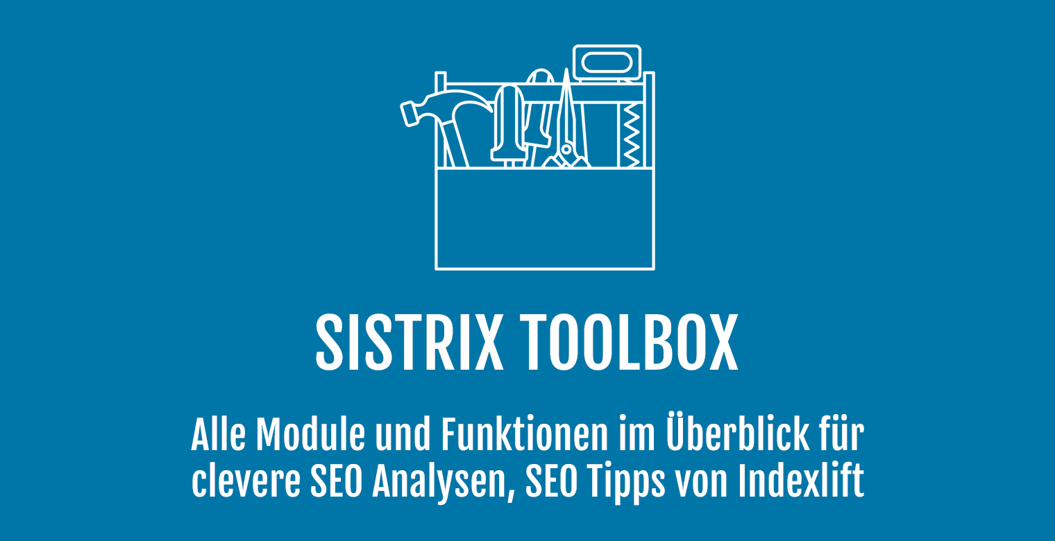 SISTRIX Toolbox - Header