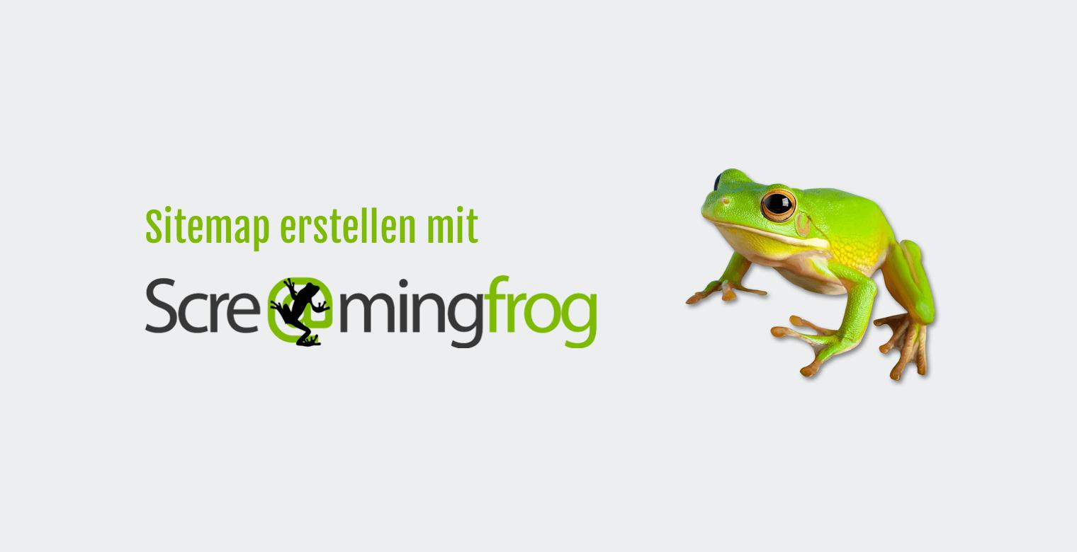 Sitemap erstellen mit Screaming Frog