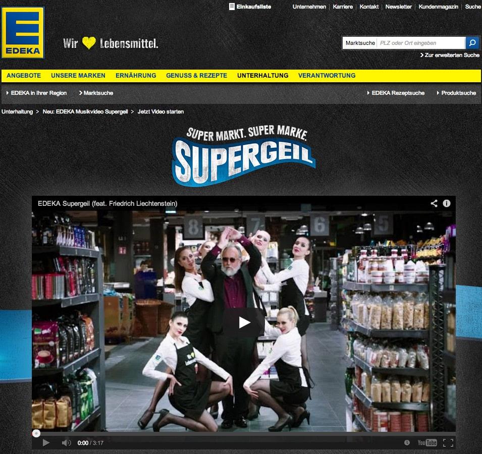 Storytelling: Supergeil von Edeka - Erfolgsträchtige virale On-/Offline Werbekampagne bei der Edeka seine Marke riskiert und mehr als gewonnen hat