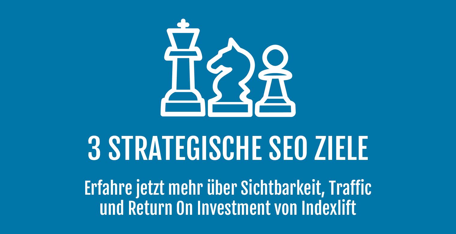 Strategische SEO Ziele - Header