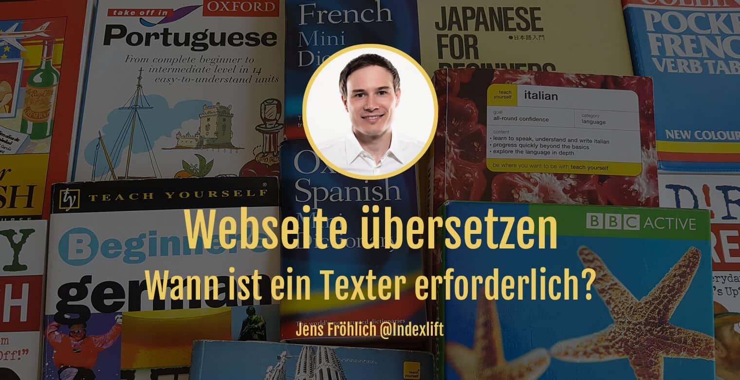 Titelbild: Texte einer Webseite übersetzen