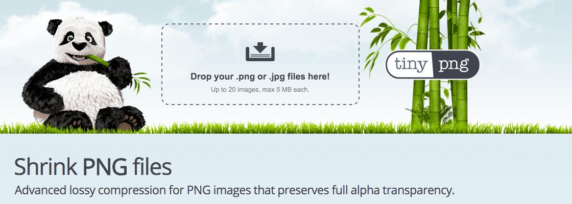 Effektive Bilder-Kompression // tinyPNG