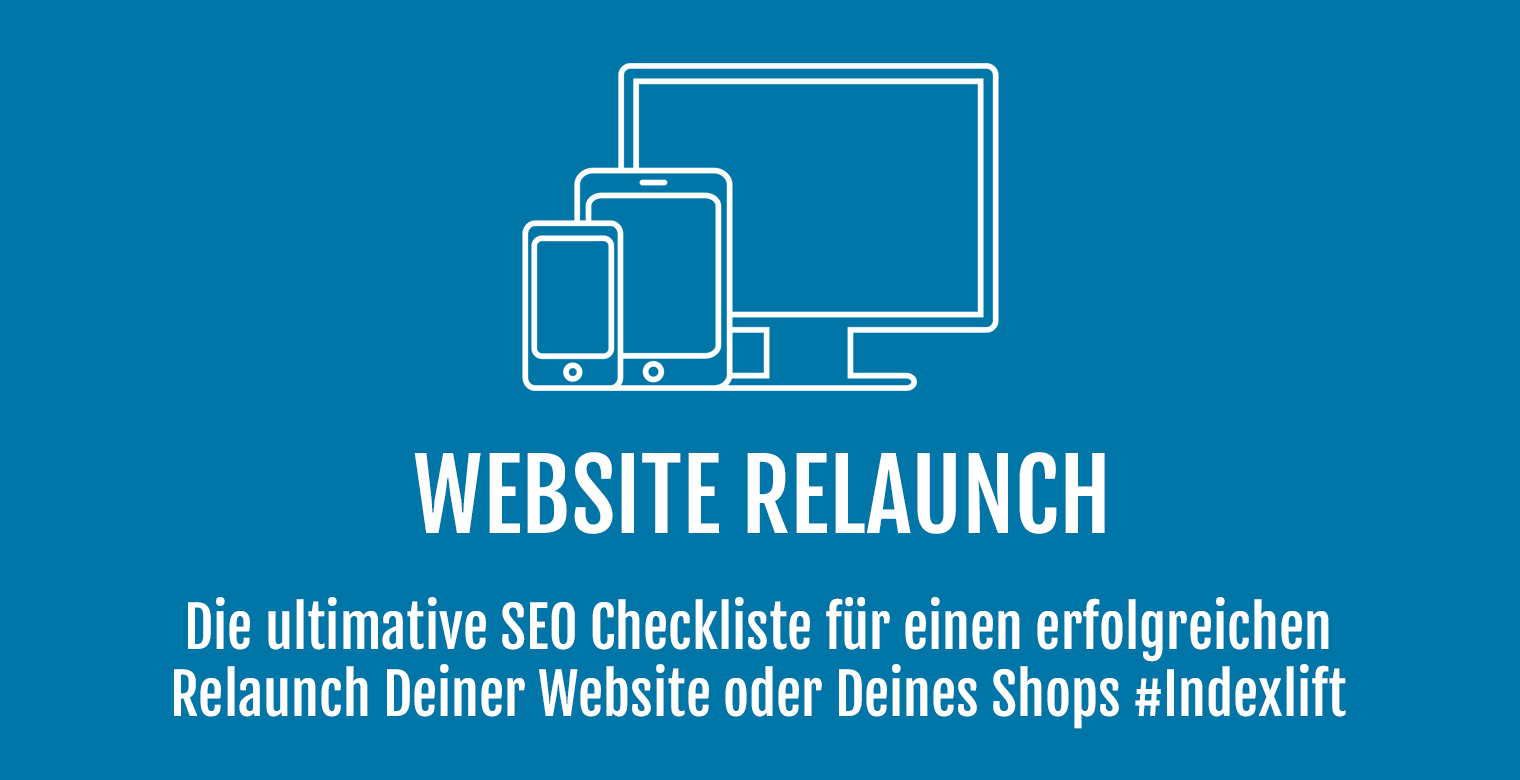 Website Relaunch SEO Checkliste - Header