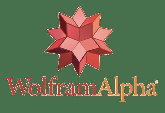 WolframAlpha Logo transparent