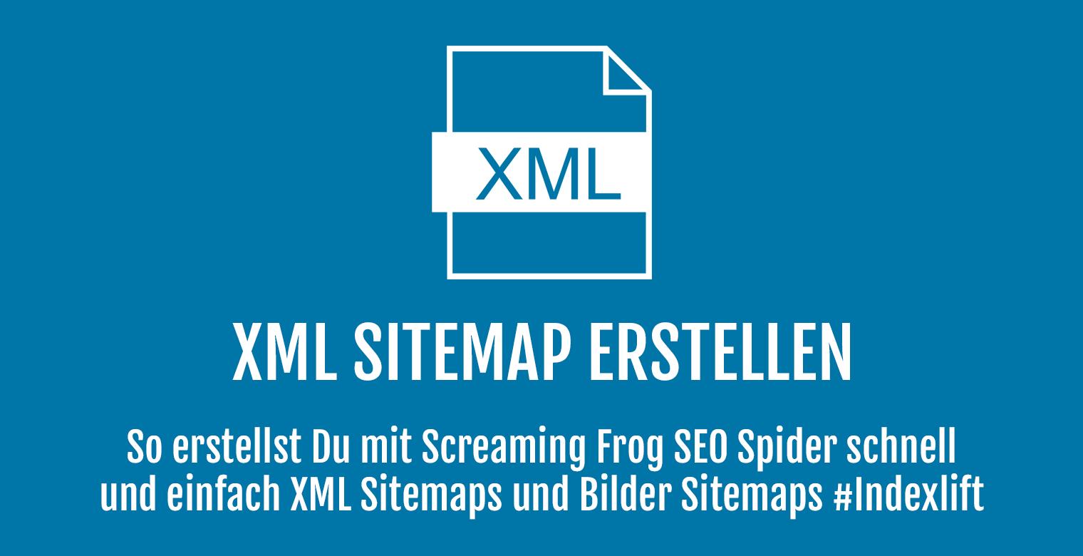XML Sitemap erstellen - Header